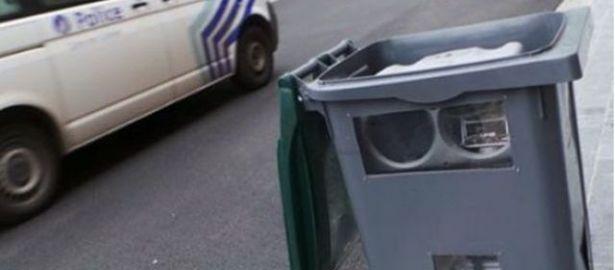 Un radar qui se fait passer pour une poubelle!