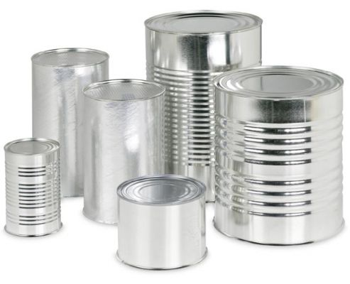 Boîtes de conserve en aluminium