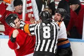 Violence au hockey