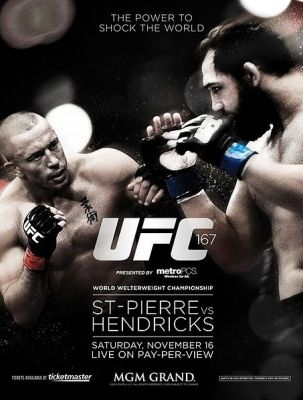 Affiche de l'UFC 167