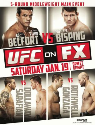 UFC on FX 7 Belfort vs Bisping