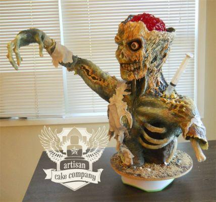 Un zombie en Rice Krispies