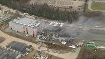 Explosion chez Neptune Technologies de Sherbrooke