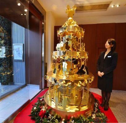 Un arbre de Noël de 4,2 millions de dollars
