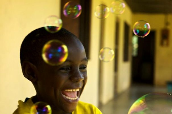 Le bonheur de ce jeune Camerounais, ce sont ses bu