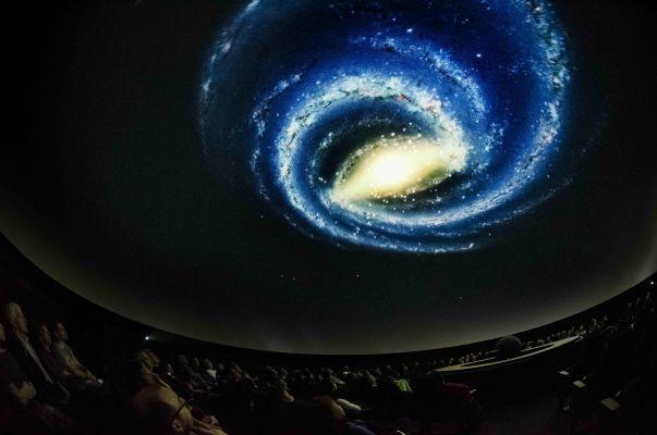 Le spectacle de la Terre aux étoiles