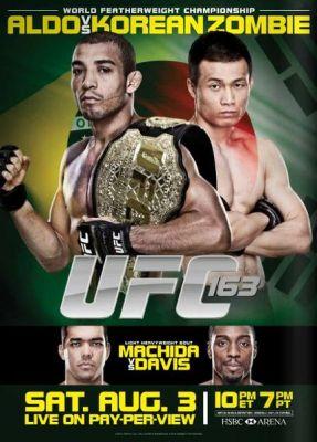 Affiche UFC 163