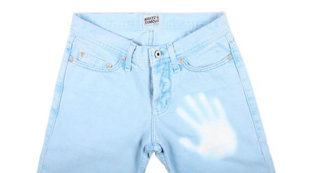 Des jeans qui changent de couleur!
