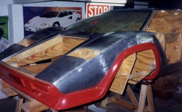 Lamborghini contach homemade