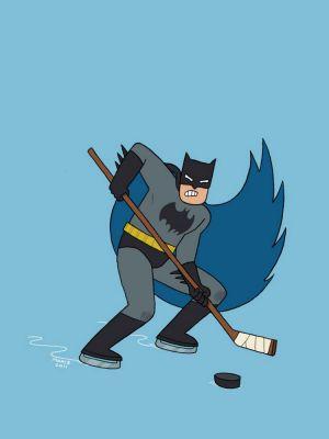 Batman en échappée!