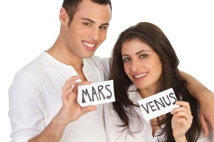 Les hommes viennent de Mars, les femmes viennent d