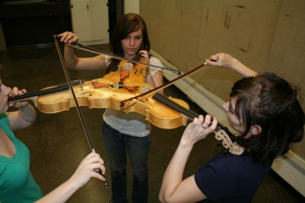 Le « Triolin » : un triple violon