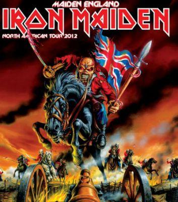Affiche Maiden England 2012