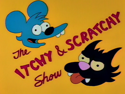 Chanson thème du « Itchy and Scratchy Show »
