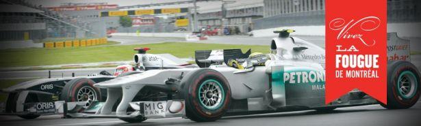Photo du site du Grand Prix de Montréal