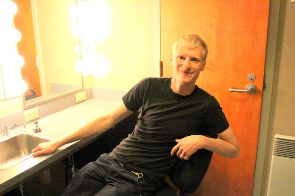 Simon Leblanc backstage