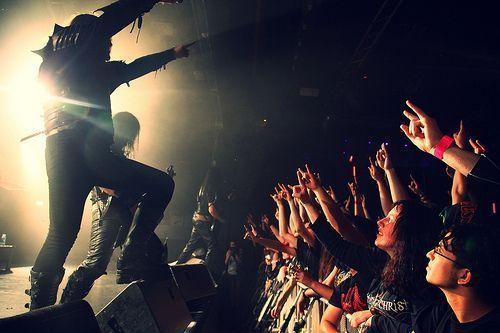 Dark Funeral. Groupe Black Métal Suédois.