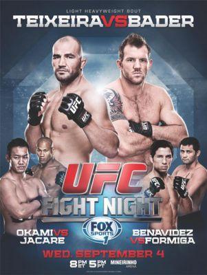 Affiche de l'événement UFC Fight Night 28