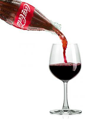 Rouge Sucette Du Vin Rouge 224 Saveur De Coca Cola Adg