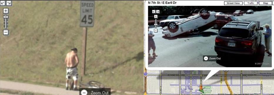 Google Street 12 Droles D Images Adg