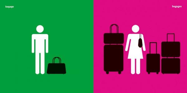 Des clichés homme / femme en images #adg