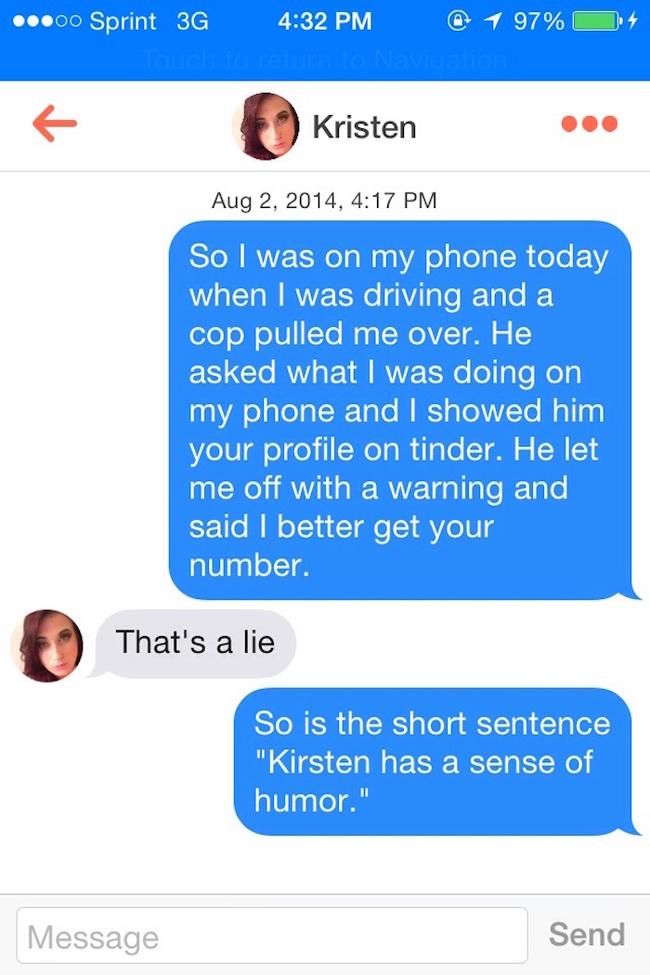 20 réponses parfaites aux pick up lines de Tinder - #adg