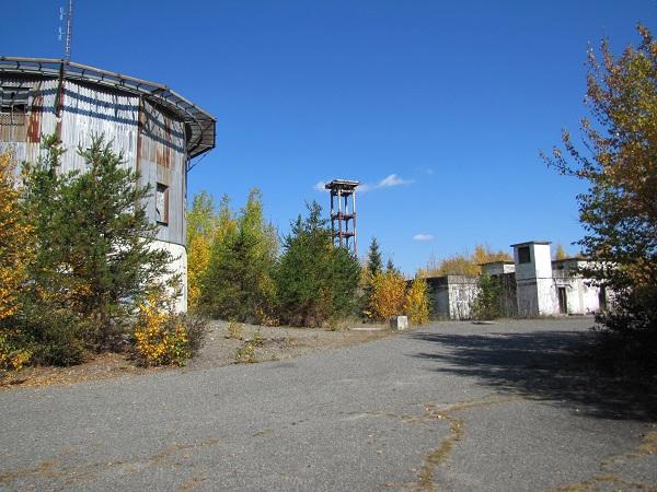 base militaire abandonnée