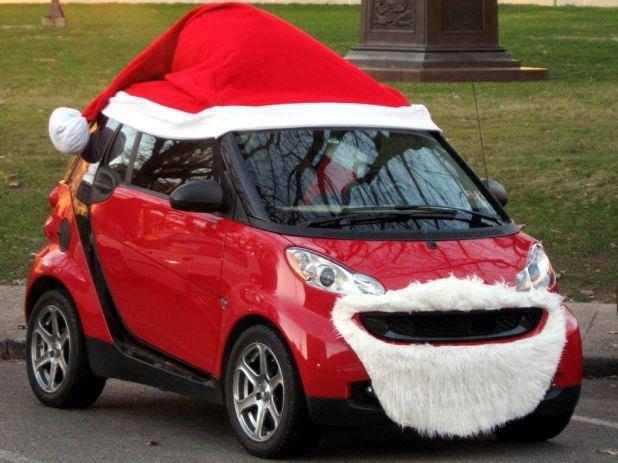 Six voitures d cor es pour noel adg for Car picture ideas