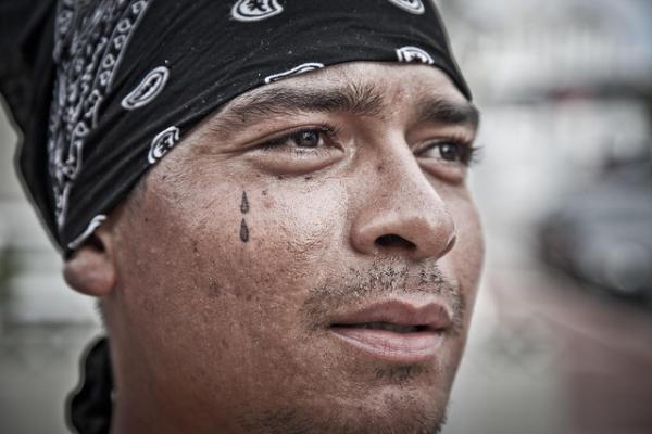 tatouages de prisonniers: leurs significations - #adg