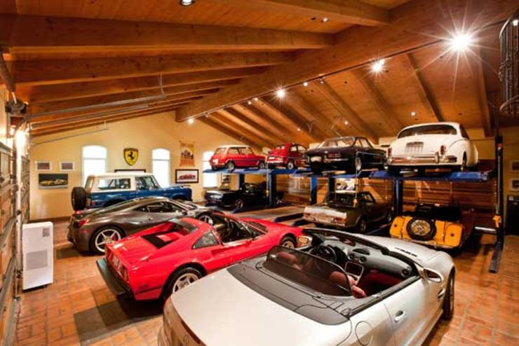 4 un garage de fou santa fe californie. Black Bedroom Furniture Sets. Home Design Ideas