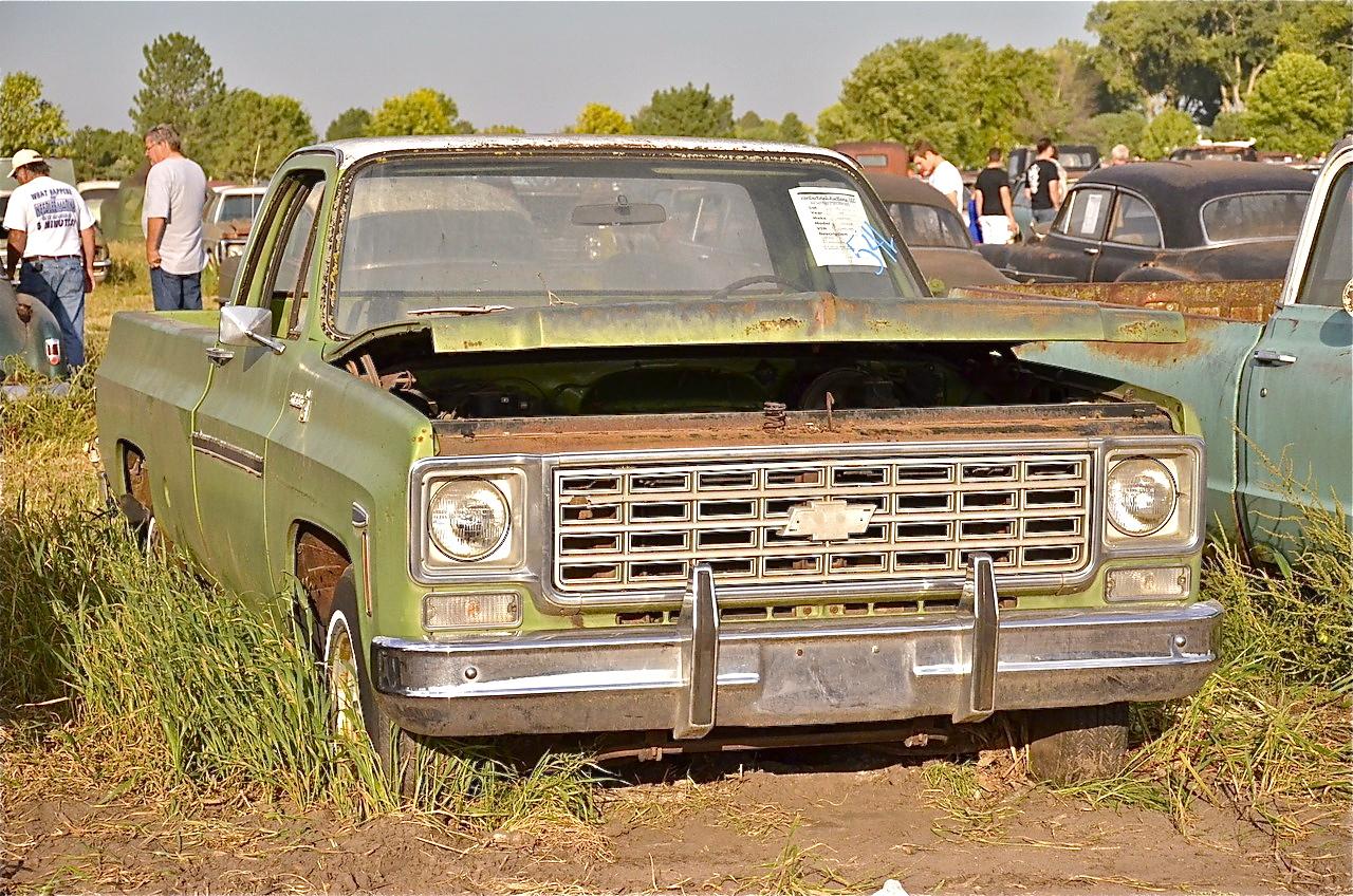 Super Lambrecht Chevrolet : 15 camions abandonnés - #adg EI96